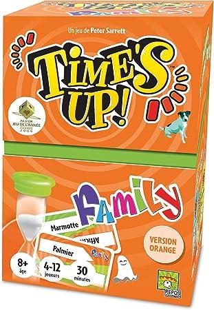Asmodee- Times Up Family 2 - Orange (TUF2N): Amazon.es: Juguetes y juegos