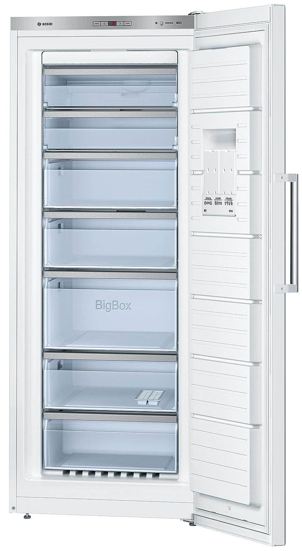 Bosch Gsn54aw30 Droit Autonome Blanc A 323l Cong Lateur