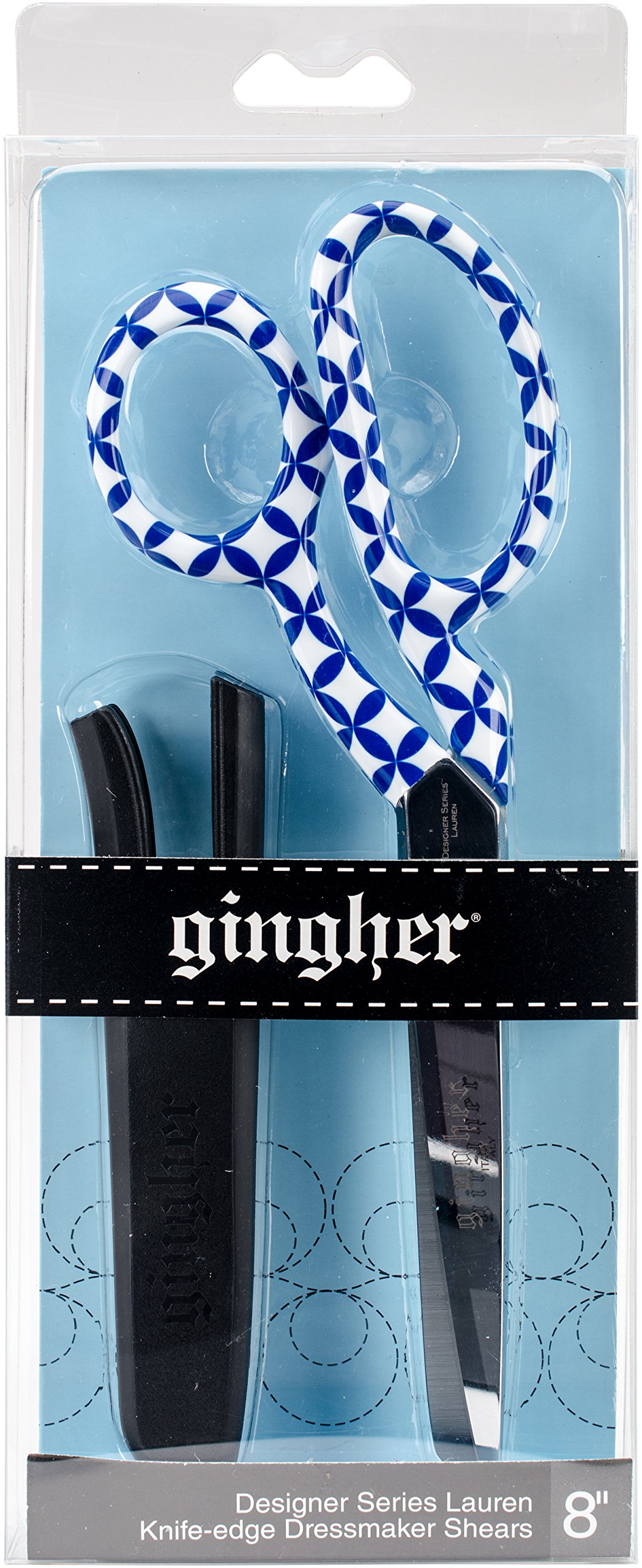 Gingher RH Shears Lauren Designer Dressmaker, 8'' by Gingher