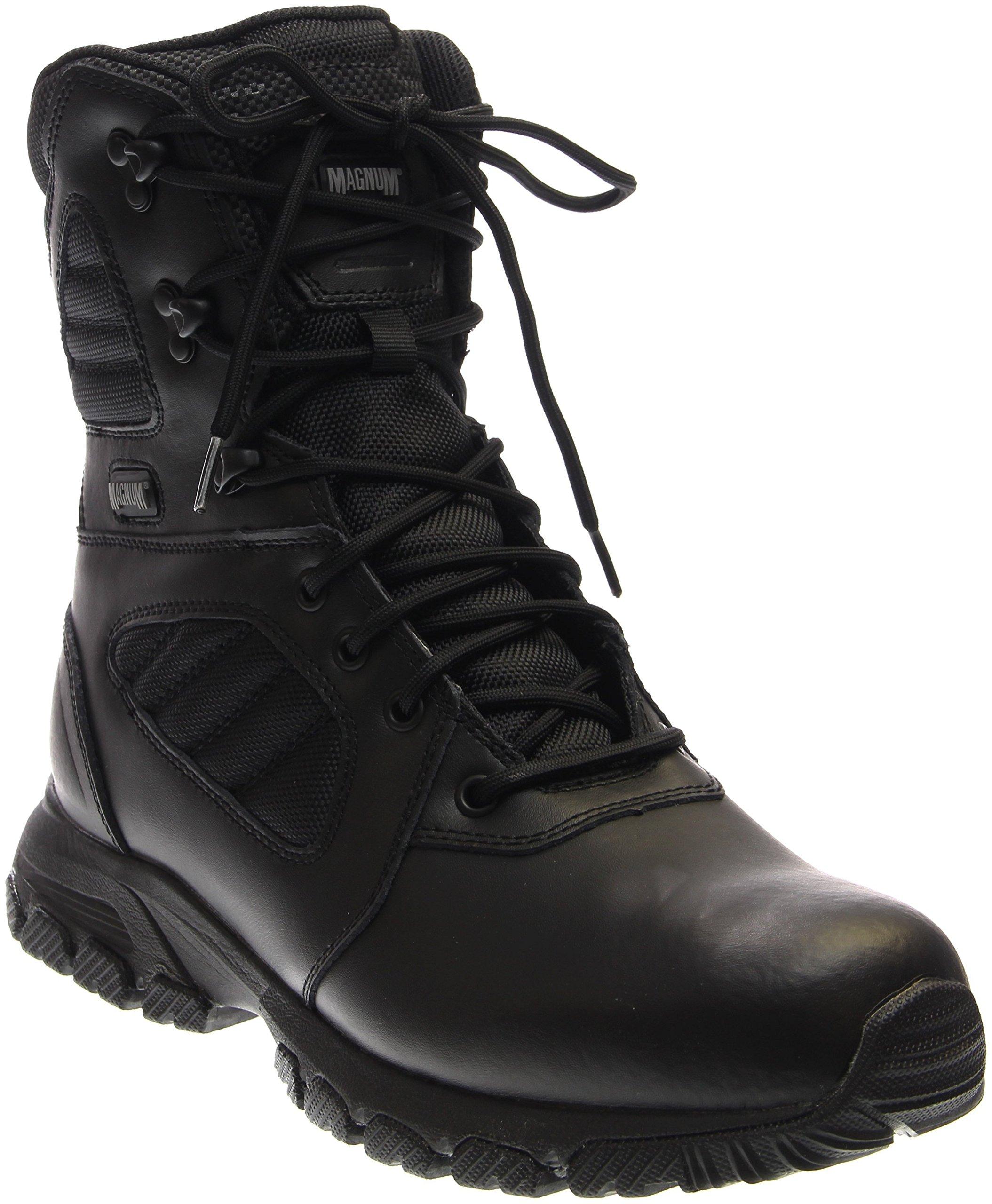 Magnum Men's Response III 8.0 Side-Zip Slip Resistant Work Boot,Black,13 M US by Magnum
