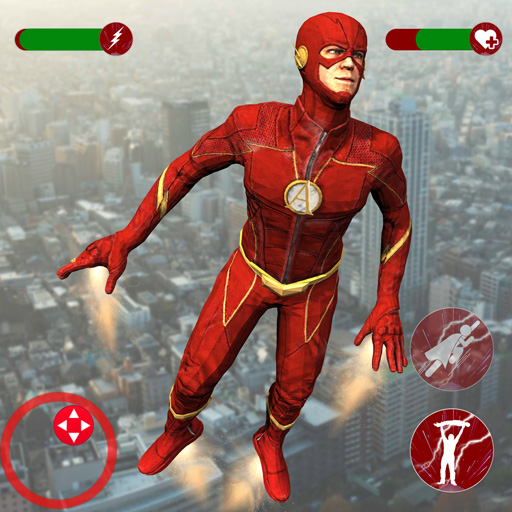 Super Speed Rescue Survival: Flying Hero