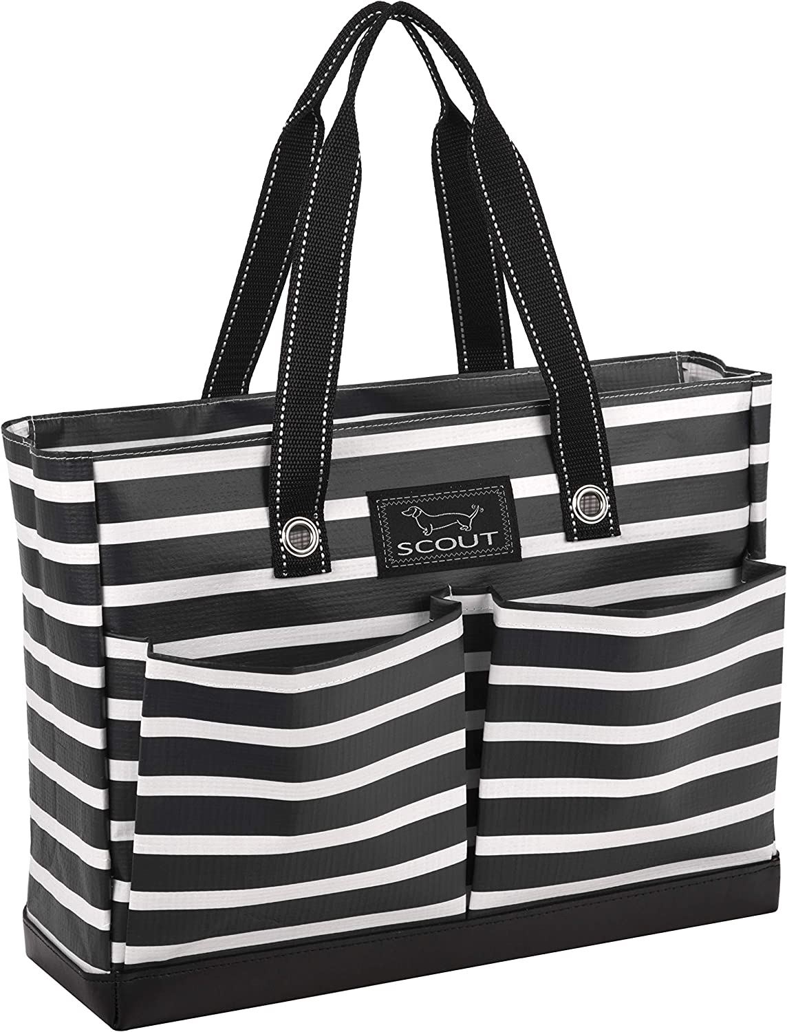 SCOUT Uptown Girl Tote Bag, Lightweight Utility Tote Bag with 4 Exterior Pockets