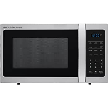 Amazon Com Sharp R 309yw Microwave 1 1 Cu Ft White