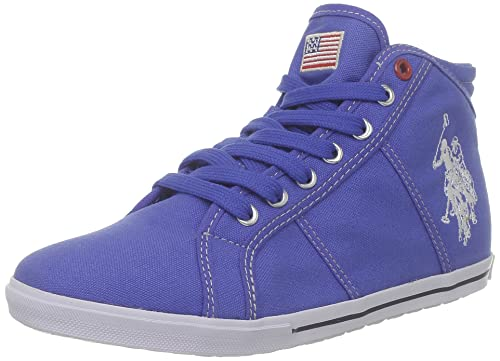 US Polo Assn Brooks2 Brooks2_Bleu (BLU) - Zapatos de Tela para ...