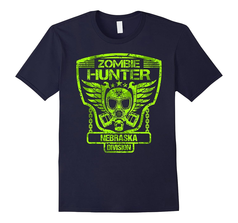 Nebraska Zombie Hunter Tshirt-FL