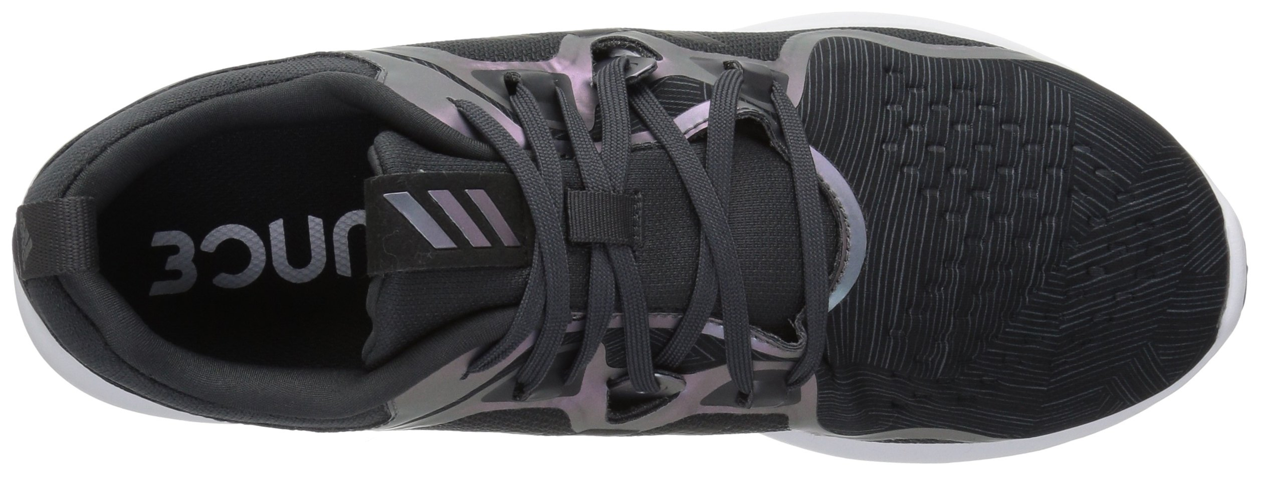 adidas Women's EdgeBounce Running Shoe Carbon/Black/Night Metallic 5.5 M US by adidas (Image #7)