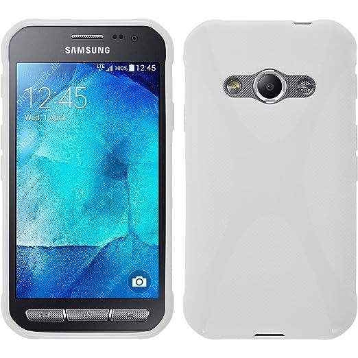 69 opinioni per PhoneNatic Custodia Samsung Galaxy Xcover 3 Cover bianco X-Style Galaxy Xcover 3