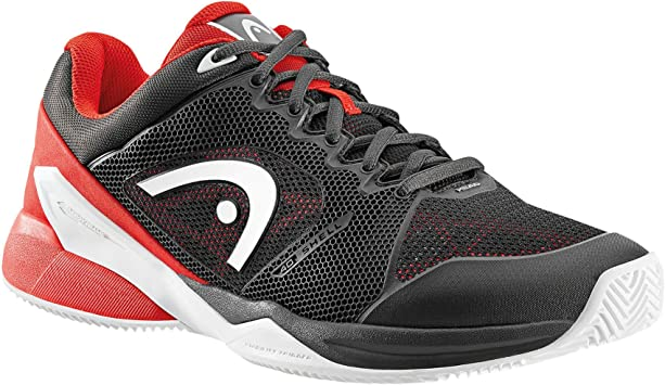 ZAPATILLAS HEAD REVOLT PRO 2.0 CLAY NEGRO ROJO ...