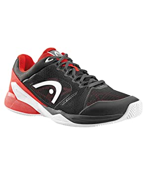ZAPATILLAS HEAD REVOLT PRO 2.0 CLAY NEGRO ROJO: Amazon.es ...