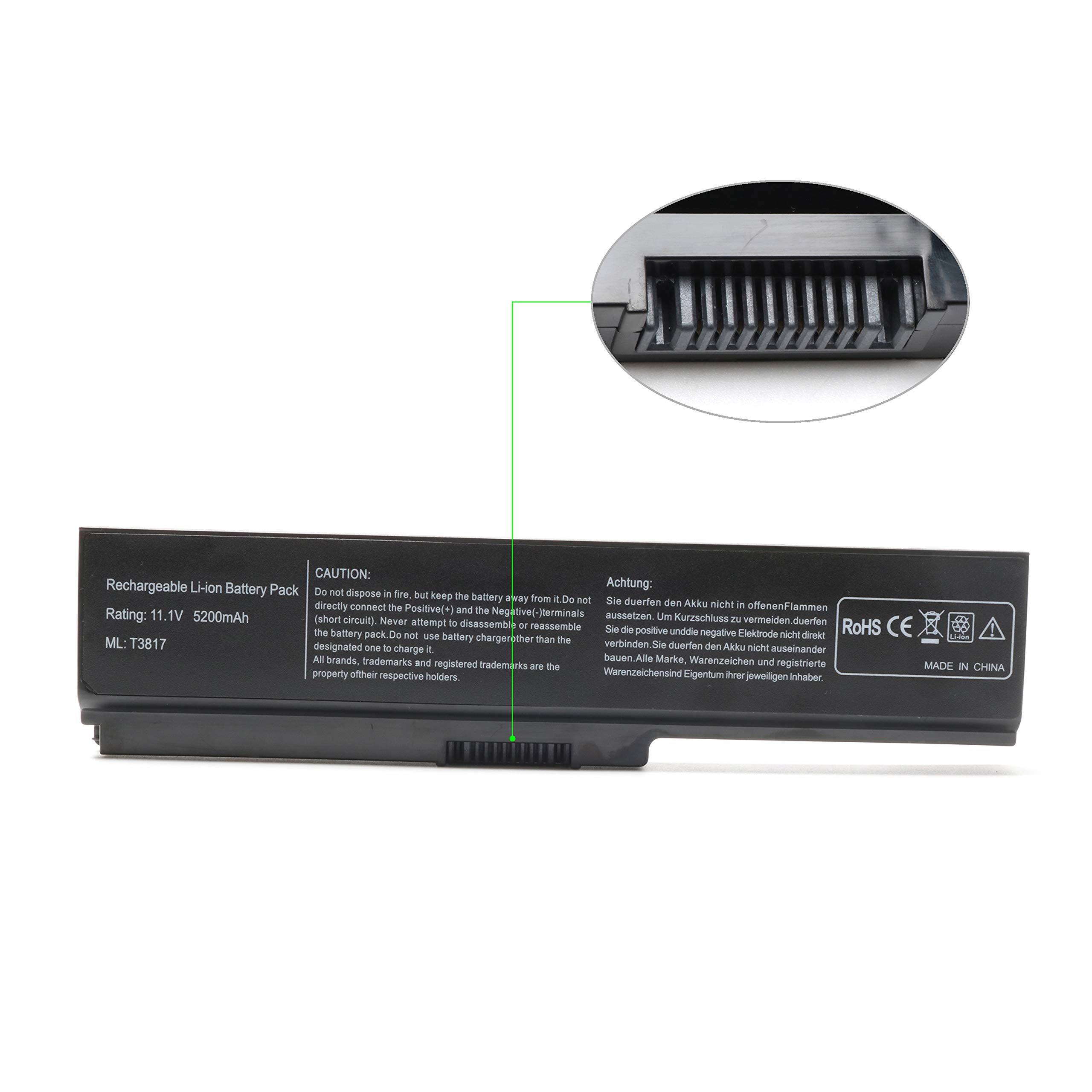 Bateria para Toshiba PA3817U-1BRS PA3818U-1BRS PA3819U-1BRS Toshiba Satellite C655 L755 L655 P755 A665 A665-S6050 L745 C