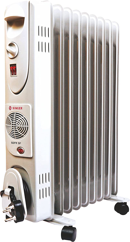 Singer OFR 9 FIN 2600 Watts Oil Filled Radiator Room Heater