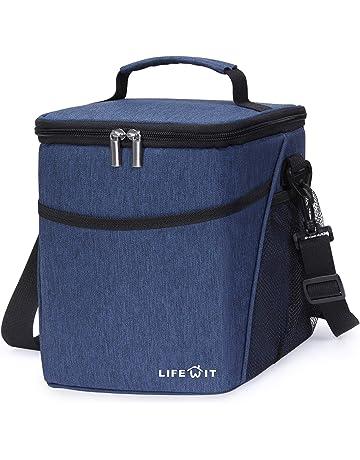 Lifewit Borsa Termica Manutenzione di Freddo e Caldo Porta Pranzo Cibo  Alimentazione Lunch Box da 9Litri 1f51bb58496
