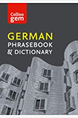 Collins German Phrasebook and Dictionary Gem Edition: Essential phrases and words (Collins Gem) Kindle Edition