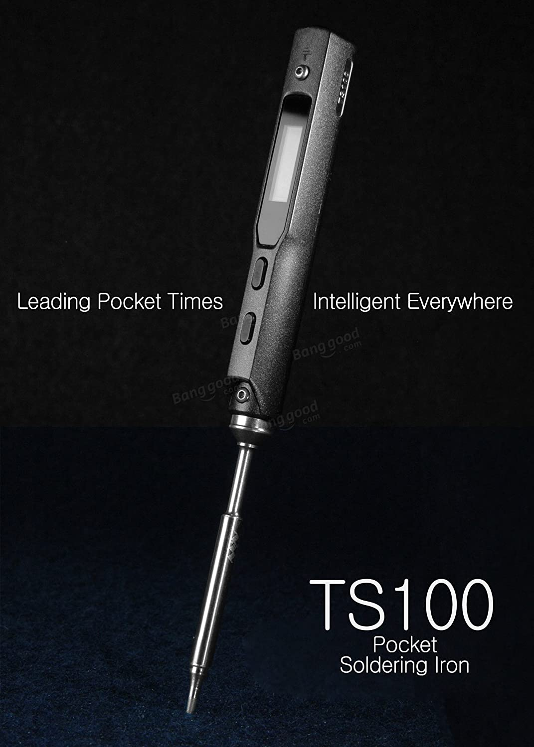 TCINF - TS100 65W Digital OLED Programmable Soldering Iron Built-in STM32 Chip: Amazon.es: Bricolaje y herramientas