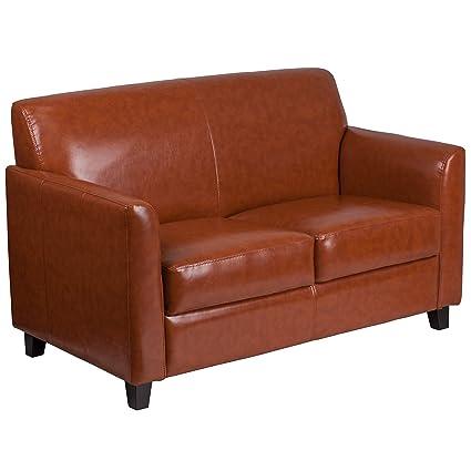 Peachy Amazon Com Bsd National Supplies Benville Modern Cognac Machost Co Dining Chair Design Ideas Machostcouk