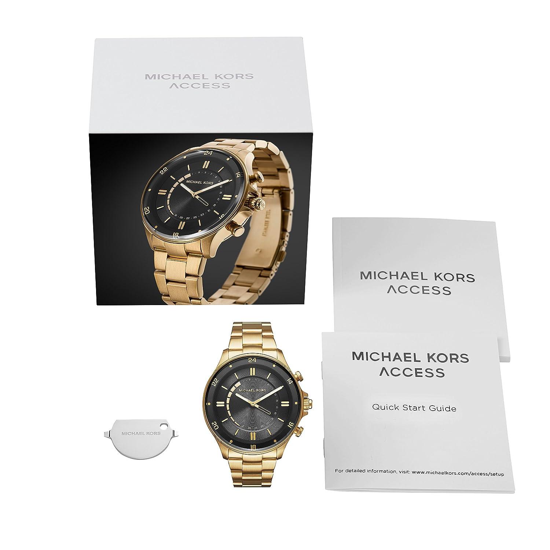 0b1acbd2c5a4 Michael Kors Men s Smartwatch MKT4014  Amazon.co.uk  Watches