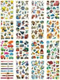 Temporary Tattoos for Kids, 200 Designs, 16 Sheets, 5x3 inches (Boy)