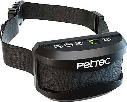 PetTec Antibark Vibra Trainer Collier de Dressage Anti aboiement avec Vibration ou Signal sonore Automatique