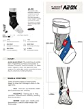 Zamst A2-DX Strong Support Ankle Brace, White, XL