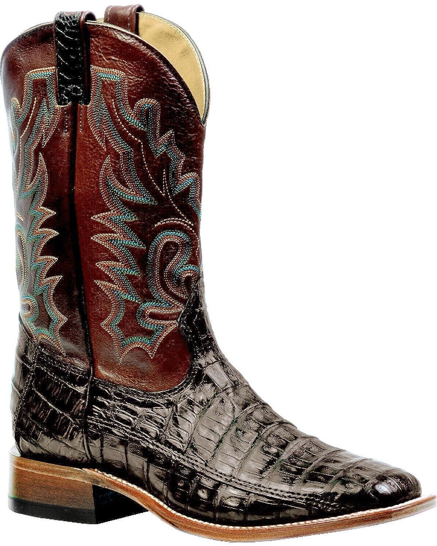- Soul Rebel Stiefel Amerikanischen – Cowboystiefel Exotische Schlangenhaut (Kroko) bo-9500 – 65-e (Fuß Normal) – Herren – Braun