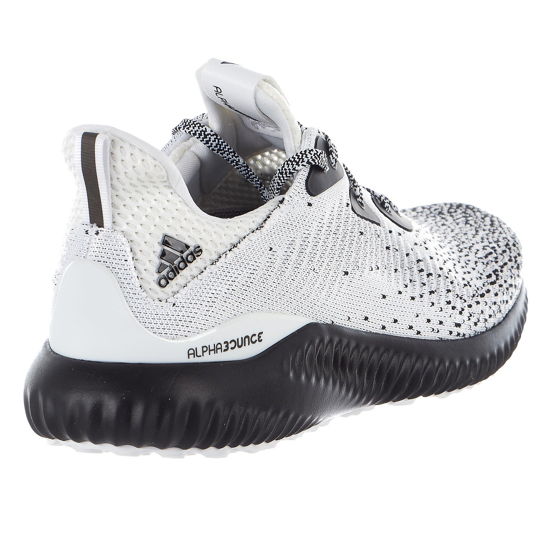 adidas Men's Alphabounce Ck m, Core Black/White/Core Black, 9.5 Medium US by adidas (Image #5)