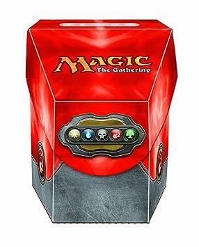 Import Anglais]MTG Red Commander Deck Box: Amazon.es: Juguetes y ...