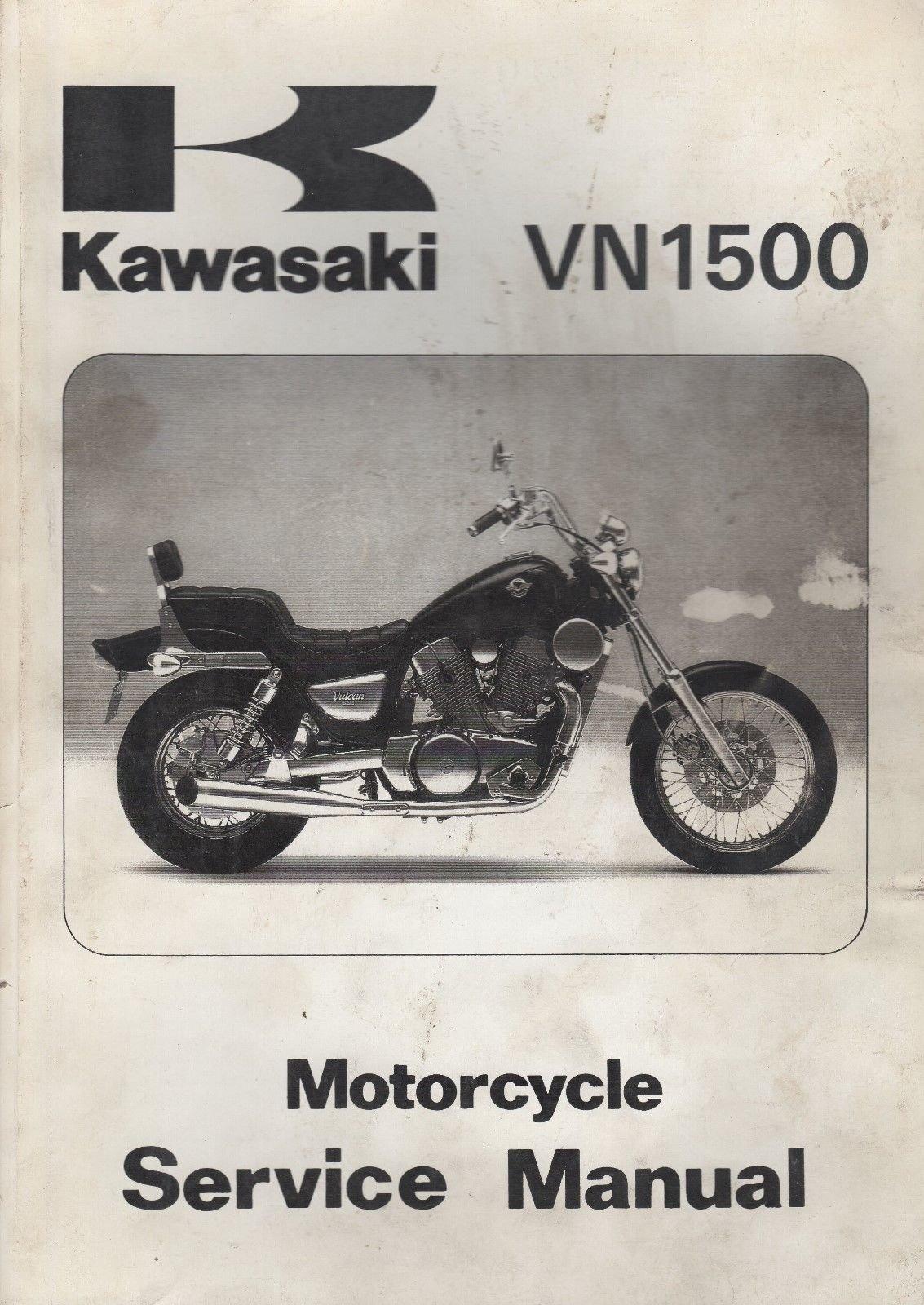 1987-1999 KAWASAKI MOTORCYCLE VN1500 SERVICE MANUAL 99924-1079-08 (912):  KAWASAKI: Amazon.com: Books