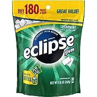 Eclipse 无糖口香糖 180 Piece Resealable Bag