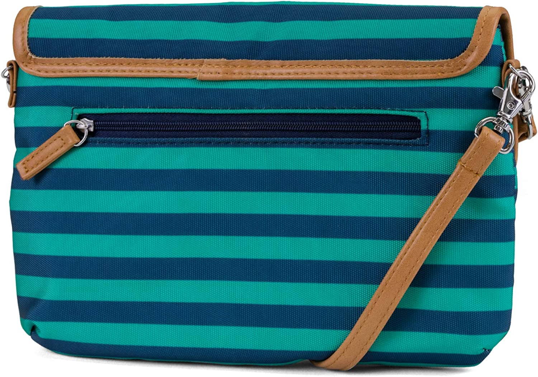 Nautica Perfect Carry-All Rfid Blocking Mini Crossbody Wallet Wristlet Clutch