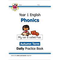 New KS1 Phonics Daily Practice Book: Year 1 - Autumn Term