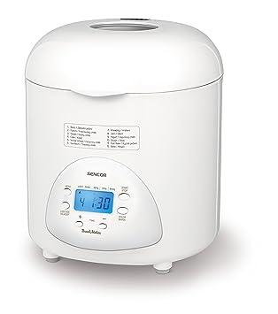 Sencor SBR 1031WH - Panificadora doméstica totalmente automática, 12 programas de cocción, 1 hoja