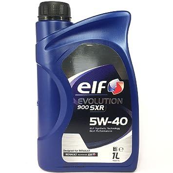 Elf - O Evolution 900 sxr 5w40 - Aceite de Motor (1 litro)