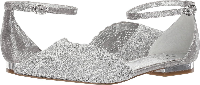 Adrianna Papell Women's Trala Mary Jane Flat B076T4K34B 8 B(M) US|Silver