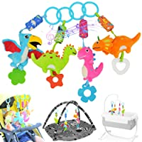 gebra Stroller Toys Car Seat Toys Crib Toys Soft Rattle Squeaky Wind Chime Infant...