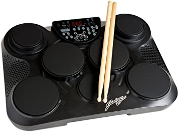 cc672bffdab3 Johnny Brook Tabletop Digital Percussion Drum Kit 7 Touch Sensitive Drum  Pads