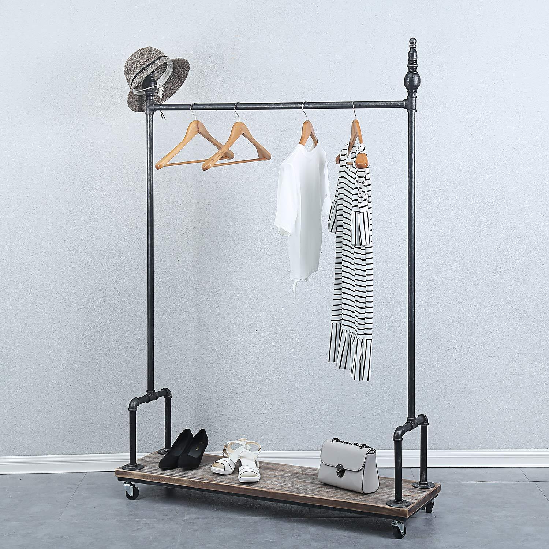 pipe clothing rack rustic clothing rack
