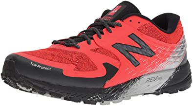 New Balance Mens SKOM-Summit King of Mountain V1 Trail Running Shoe Orange 7 2E