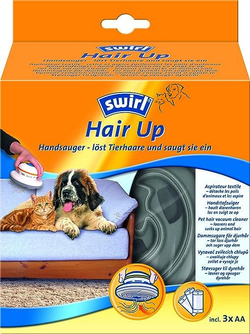 Swirl 196913 Hair-Up - Aspirador de mano para el pelo de animal ...