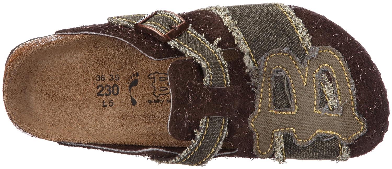Birki WOODBY B 117493 Unisex - Erwachsene Clogs & Olive Pantoletten Grau/Woodby B Olive & 9f521b