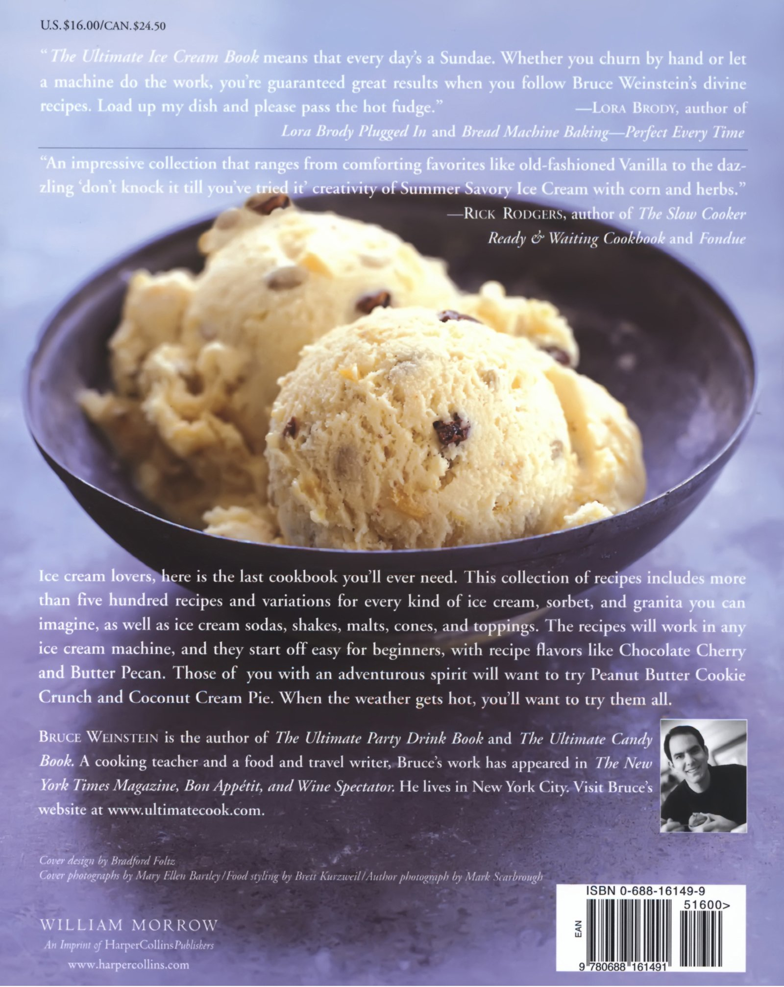 The Ultimate Ice Cream Book Over 500 Ice Creams Sorbets  # Weinstein Muebles