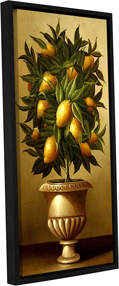 Amazon Com Welby Lemon Topiary In Marble Urn Removable Wall Art Mural 12x24 Posters Prints
