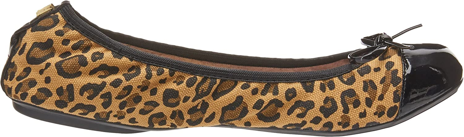 Tan Leopard 8 UK Brown Butterfly Twists Olivia animal Comfort Insole