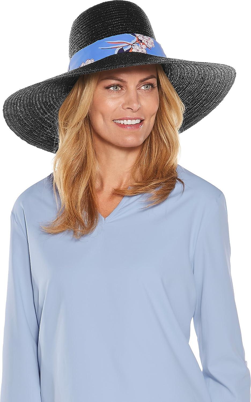 Coolibar UPF 50+ Women s Monaco Convertible Sun Hat - Sun Protective (One  Size- Black) at Amazon Women s Clothing store  78555293141