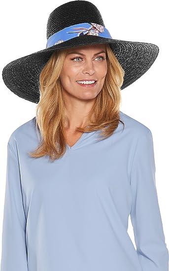 fc763134d84 Coolibar UPF 50+ Women s Monaco Convertible Sun Hat - Sun Protective (One  Size-