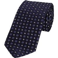 Park Avenue Dark Blue Polyester Regular Fit Neck Tie