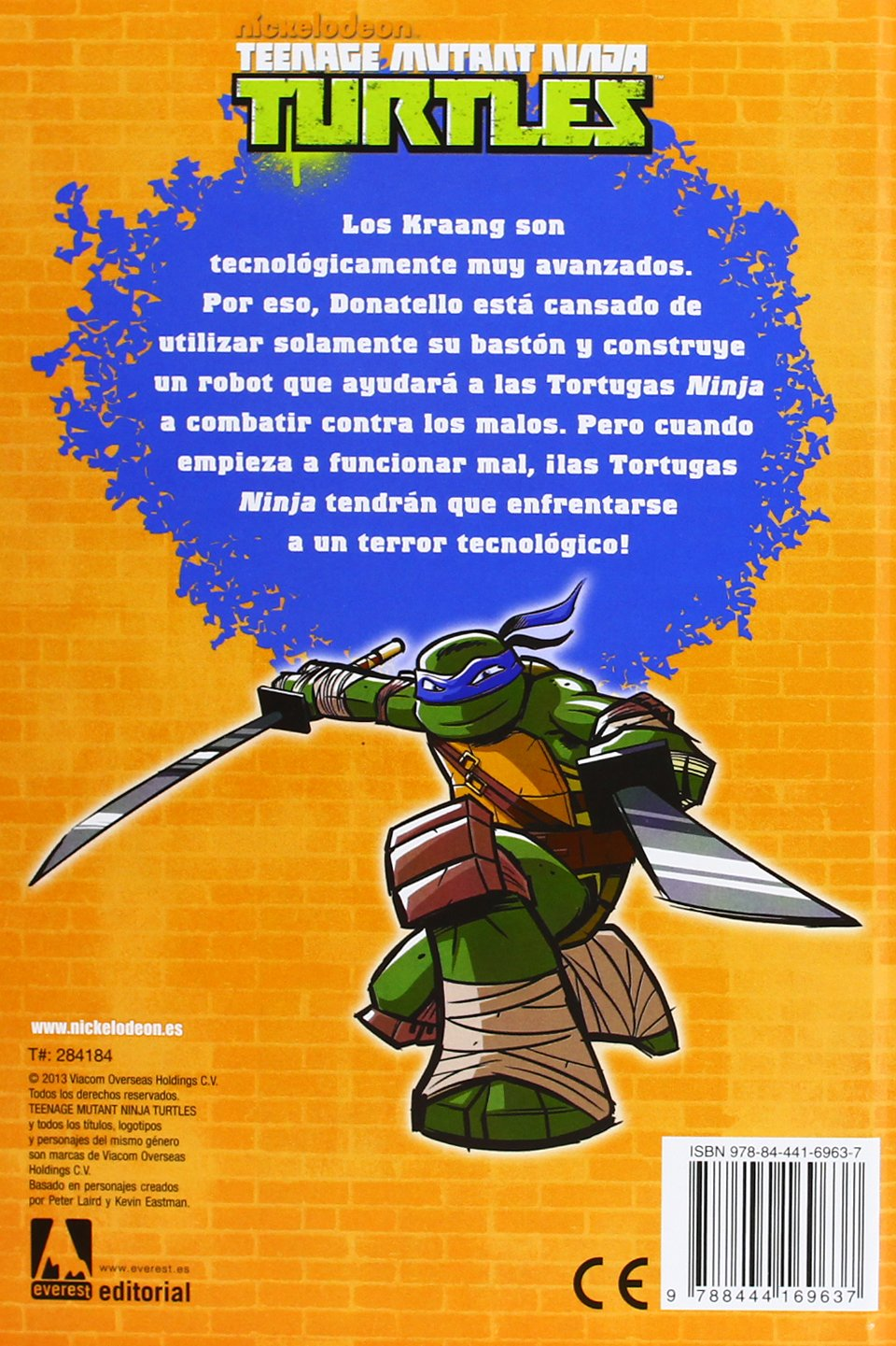 Teenage Mutant Ninja Turtles. ¡Locura robótica! Libros de ...