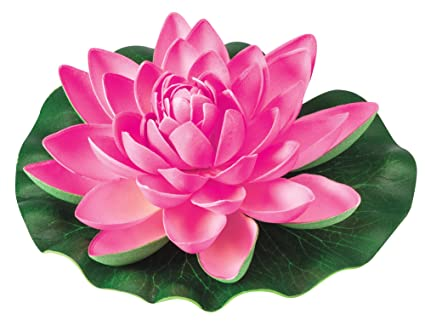 Amazon the paragon artificial flowers fake water lily plant the paragon artificial flowers fake water lily plant realistic outdoor faux silk flower mightylinksfo