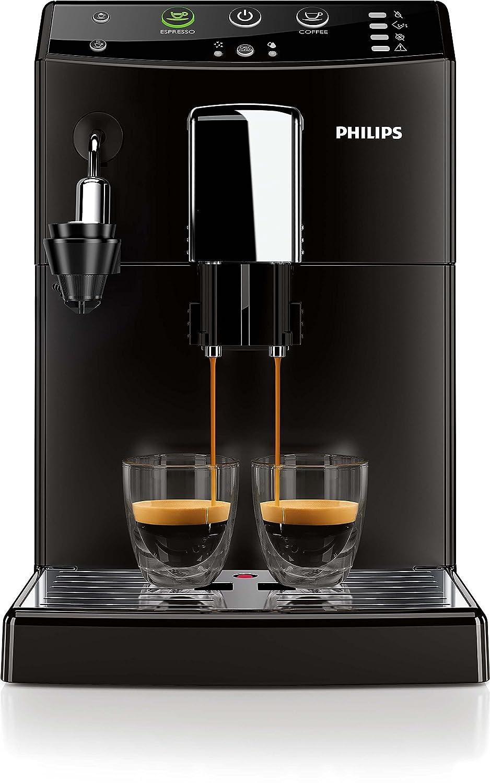 Philips 3000 series HD8824/01 - Cafetera (Independiente, Máquina espresso, 1,8 L, Molinillo integrado, 1850 W, Negro): Amazon.es: Hogar