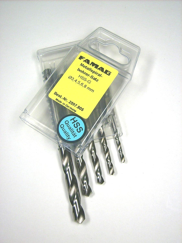 2597.030 FAMAG 2597 Metallspiralbohrer HSS-G Bits lang 3,0mm