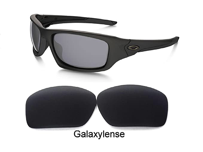 b958fee380f3e Image Unavailable. Image not available for. Color  Galaxy Replacement Lenses  For Oakley Valve Black Color Polarized